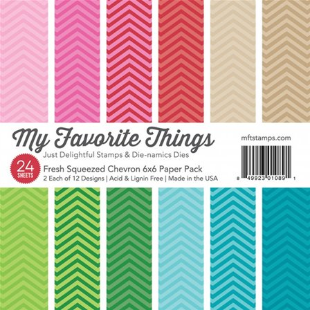 Fresh Squeezed - Chevron Paper Pack