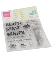 Clear stamp - Art Stamp Hallo