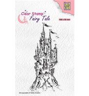 Clear stamp - Elves castle