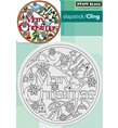 Cling Stamps - Christmas in the Round