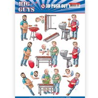 Papier 3D - Big Guys - Backyard BBQ