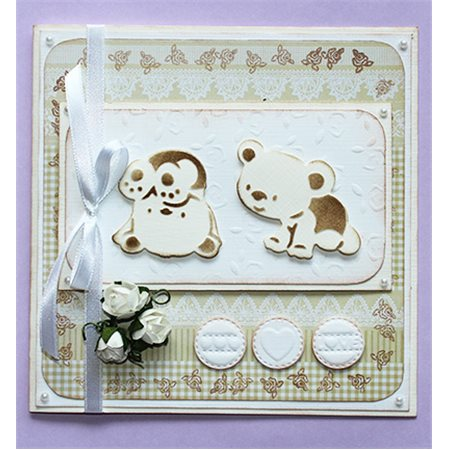 Cutting & embossing - Baby Bear