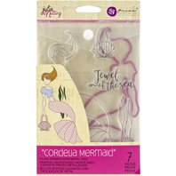 Combo Die & Stamps - Mermaid Kisses Cordelia Mermaid