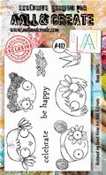Clear Stamps-A6-#412-Head Starts