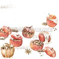 Papier - Various baked apples