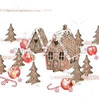 Papier - Gingerbread cottage