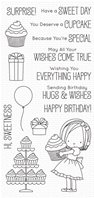 Clear stamp - Sweet Birthday Wishes