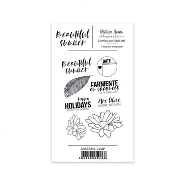 Clear stamp - Beautiful Summer - 1
