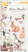 Clear stamps - Farm Meadow - Animals