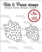 Crealies Clear Stamp - fraises