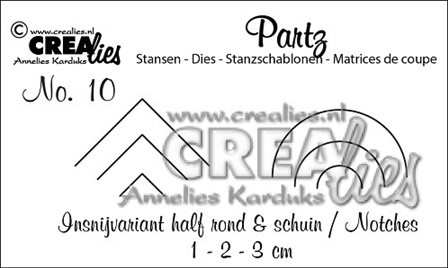 Crealies Partz - Encoches