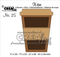 Crealies Xtra - Mug to go - small