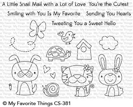 Clear Stamps - Cute Critters