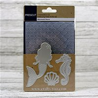 Embossing Folder & Die Set - Mermaid Shore