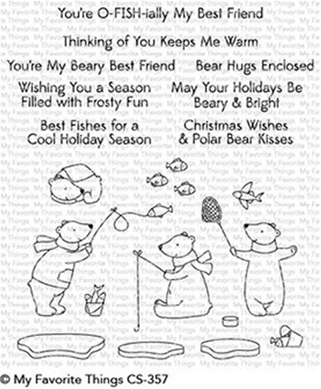 Clear Stamps - Beary Best Friends