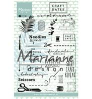 Clear Stamps - Craft dates