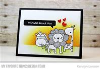 Clear Stamps - Wild About You