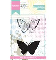 Clear Stamps - Tiny's Butterfly 2