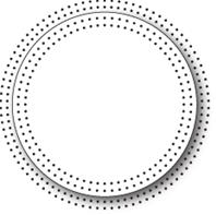 Die - Pinpoint Circle Frame