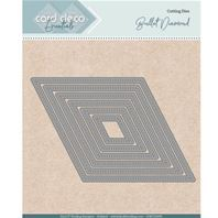 Die - Card Deco Essentials - Diamond stitched