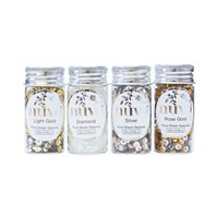 Golden Years - Pure Sheen Sequins 4 Packs