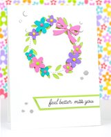 Die -Stitch Wreath