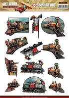 Papier 3D -Vintage Vehicles