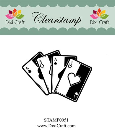 Clear stamp - Playing Cards