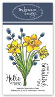 Clear Stamp - Beautiful Narcissus