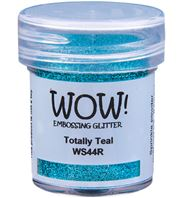 Wow! Embossing Powder Glitter - Totally Teal