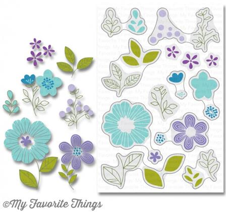 Clear Stamps - Bold Blooms
