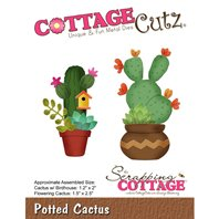 Cottage Cutz - Potted Cactus