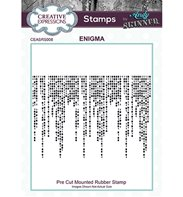 Cling Stamp - Enigma