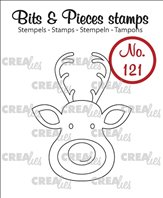 Crealies Clear Stamp - Renne