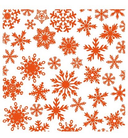 Design Folders - Ice Crystals