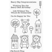Clear Stamps - Town Bear