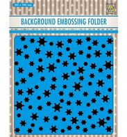 Embossing Folder - Background - Snowflakes