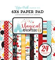 Paper Pad 6 x 6 - Magical Adventure