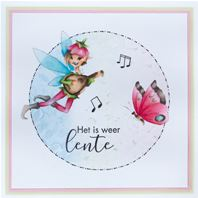 Clear stamp - Hetty' musical fairy