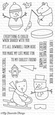 Clear Stamps - Cooler with You