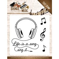 Clear Stamps - Sounds of Music