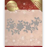 Die - Merry&Bright Christmas - Poinsettia border