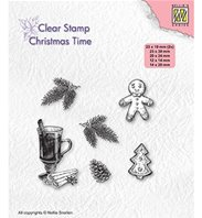 Clear stamp - Christmas decorations