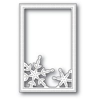 Die - Simple Pinpoint Snowflake Frame