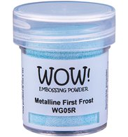 Wow! Embossing Powder - Metalline First Frost