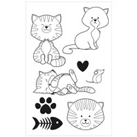 Clear Stamp - Family Friends - Chats