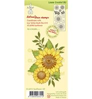 Clear stamp - Sunflower