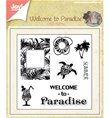 Clear Stamps - Welcome to Paradise