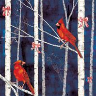 Papier - Winterbirds - Cardinal bird