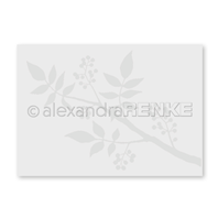 Embossing folder - Pepper branch
